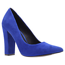 Buy KG by Kurt Geiger Calista Court Shoes, Blue Online at johnlewis.com