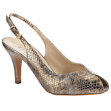 Buy Peter Kaiser Sandrie Peep Toe Slingback Court Shoes