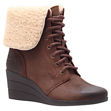 Buy UGG Zea Wedge Ankle Boots Online at johnlewis.com
