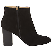Buy Whistles Laurie Block Ankle Boots, Black Online at johnlewis.com