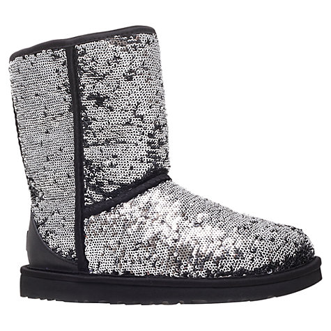Buy UGG Sequin Classic Short Sparkle Boots Online at johnlewis.com