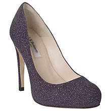 Buy L.K. Bennett Harley Court Shoes, Violet Online at johnlewis.com