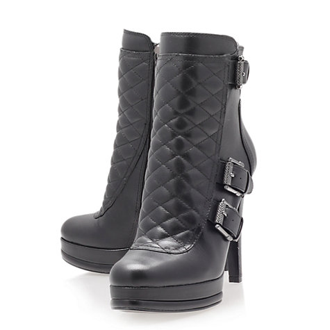 Buy Nine West Aspida Ankle Boots, Black Online at johnlewis.com