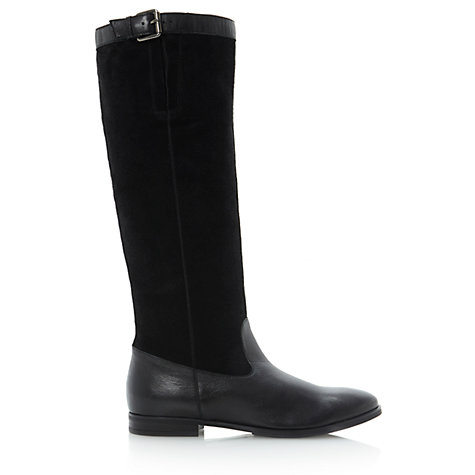 Buy Dune Tags Knee Boots Online at johnlewis.com