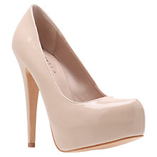 Buy Carvela Kaci Court Shoes, Nude Online at johnlewis.com