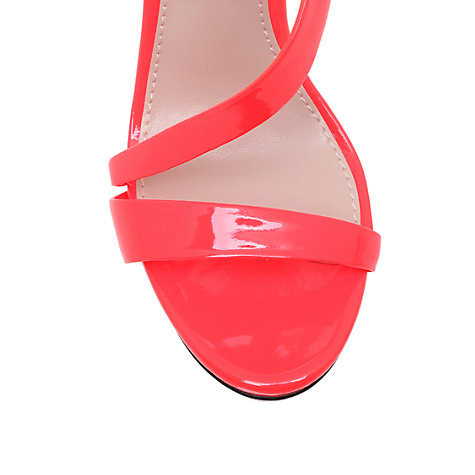 Buy Carvela Gosh Curved Strap Stiletto Sandals Online at johnlewis.com