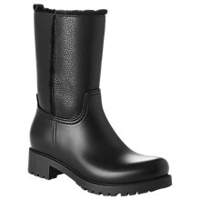 Buy L.K. Bennett Warren Wellington Ankle Boots, Black Online at johnlewis.com