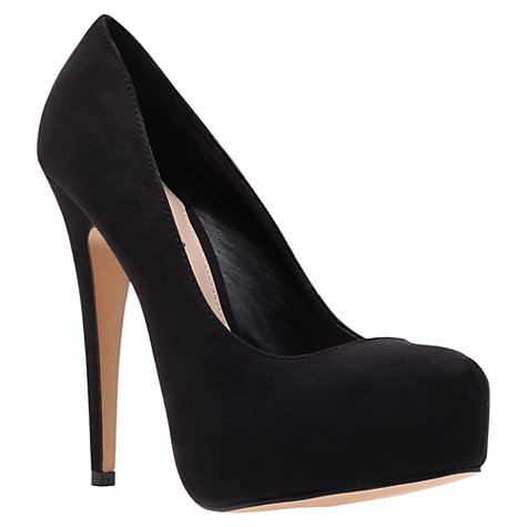 Buy Carvela Kaci Court Shoes, Black Online at johnlewis.com