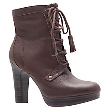Buy UGG Shezbie Ankle Boots, Brown Online at johnlewis.com