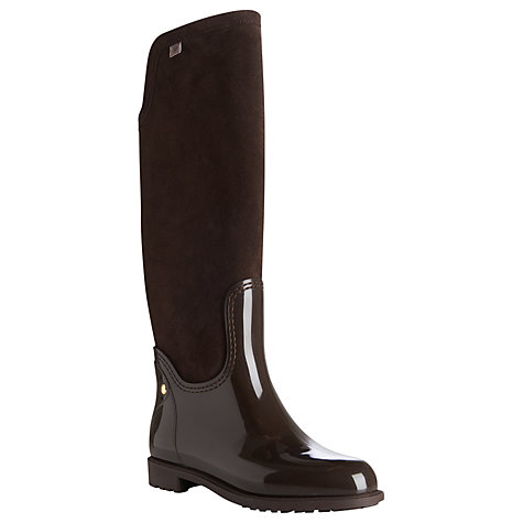 Buy L.K. Bennett Willow Knee Boots, Brown Online at johnlewis.com