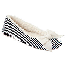 Buy John Lewis Mars Stripe Ballet Slippers Online at johnlewis.com