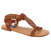 Buy Collection WEEKEND by John Lewis Glad Gladiator Sandals, Tan Online at johnlewis.com