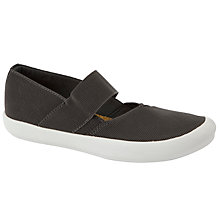 Buy John Lewis Nic Mary Jane Loafers, Grey Online at johnlewis.com