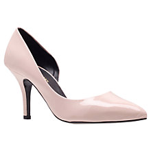 Buy KG by Kurt Geiger Bastien Court Shoes, Nude Online at johnlewis.com