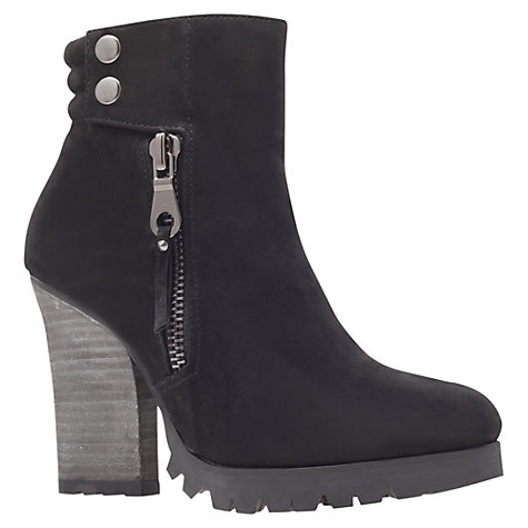 Buy KG by Kurt Geiger Shock Ankle Boots, Black Online at johnlewis.com