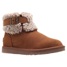 Buy UGG Jocelin Ankle Boots, Dark Brown Online at johnlewis.com
