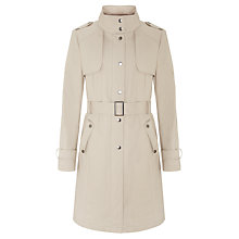 Buy John Lewis Waterproof Funnel Neck Coat Online at johnlewis.com