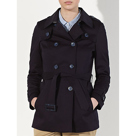 Buy John Lewis Cotton Sateen Mac Online at johnlewis.com