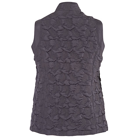 Buy Chesca Quilted Zip Detail Gilet Online at johnlewis.com