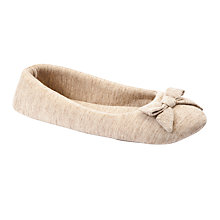 Buy John Lewis Pietro Slippers, Oatmeal Online at johnlewis.com