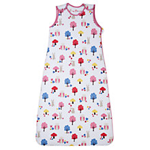 Buy John Lewis Baby Owl Print Sleeping Bag Online at johnlewis.com