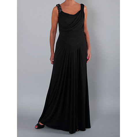 Buy Chesca Cowl & Drape Detail Evening Dress Online at johnlewis.com