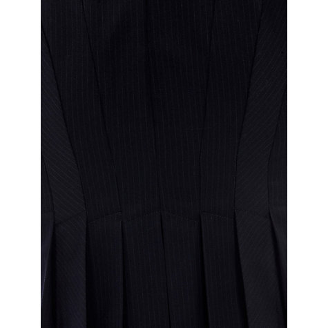 Buy Warehouse Pinstripe Dress, Navy Online at johnlewis.com