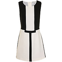 Buy True Decadence Luxe Shift Dress, Black/White Online at johnlewis.com