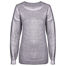 Buy True Decadence Metallic Brushed Jumper Online at johnlewis.com