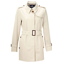 Buy Aquascutum Jen Single Breasted Jacket, Light Beige Online at johnlewis.com