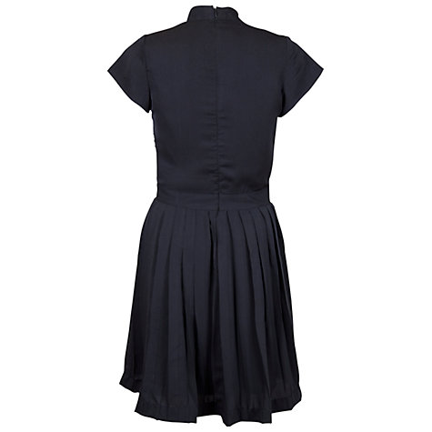 Buy Whistle & Wolf Pleated Dress, Black Online at johnlewis.com