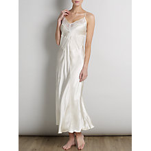 Buy Somerset by Alice Temperley Gatsby Bridal Long Chemise, Ivory Online at johnlewis.com
