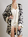 Somerset by Alice Temperley Palm Short Robe, Multi