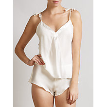 Buy Somerset by Alice Temperley Gatsby Bridal Cami & Short Set, Ivory Online at johnlewis.com
