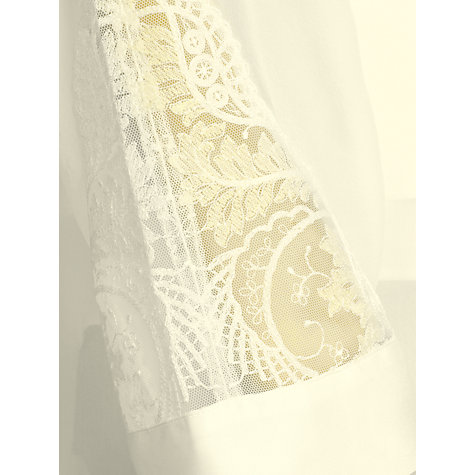 Buy Somerset by Alice Temperley Gatsby Bridal Kimono, Ivory Online at johnlewis.com