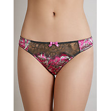 Buy Somerset by Alice Temperley Chinoiserie Thong, Pink / Multi Online at johnlewis.com