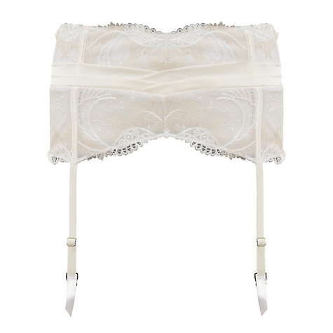 Buy Somerset by Alice Temperley Gatsby Bridal Waspie, Ivory Online at johnlewis.com