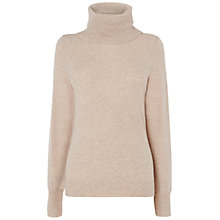 Buy Jaeger Cashmere Roll Neck Jumper Online at johnlewis.com
