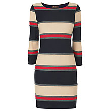 Buy Phase Eight Colour Block Tunic, Black/Camel/Red Online at johnlewis.com