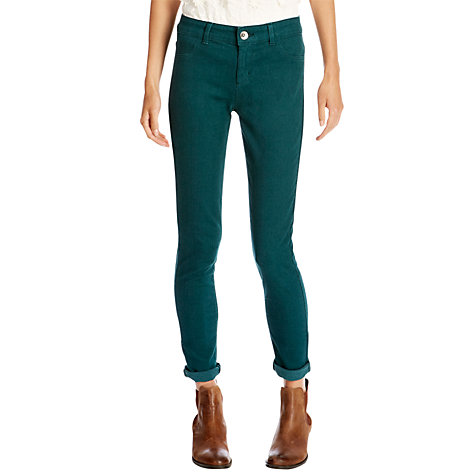 Buy Oasis Jade Superskinny Jeans, Blue Online at johnlewis.com