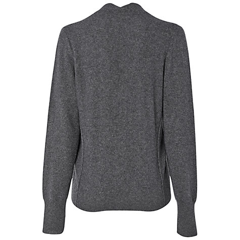 Buy Jaeger V-Neck Cardigan, Grey Online at johnlewis.com
