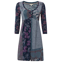 Buy White Stuff Yin Yang Kaftan Dress, Teal green Online at johnlewis.com