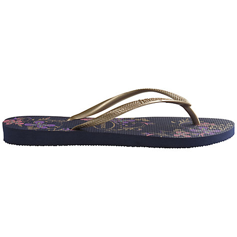 Buy Havaianas Slim Patterned Rubber Flip Flops Online at johnlewis.com