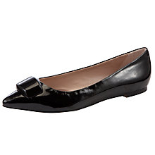 Buy COLLECTION by John Lewis Miami Patent Ballerinas, Black Online at johnlewis.com
