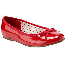 Buy John Lewis Olive Strap Ballet Pumps Online at johnlewis.com
