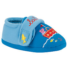 Buy George Pig Sailor George Slippers, Blue Online at johnlewis.com