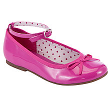 Buy John Lewis Girl Olive Strap Ballet Pumps Online at johnlewis.com