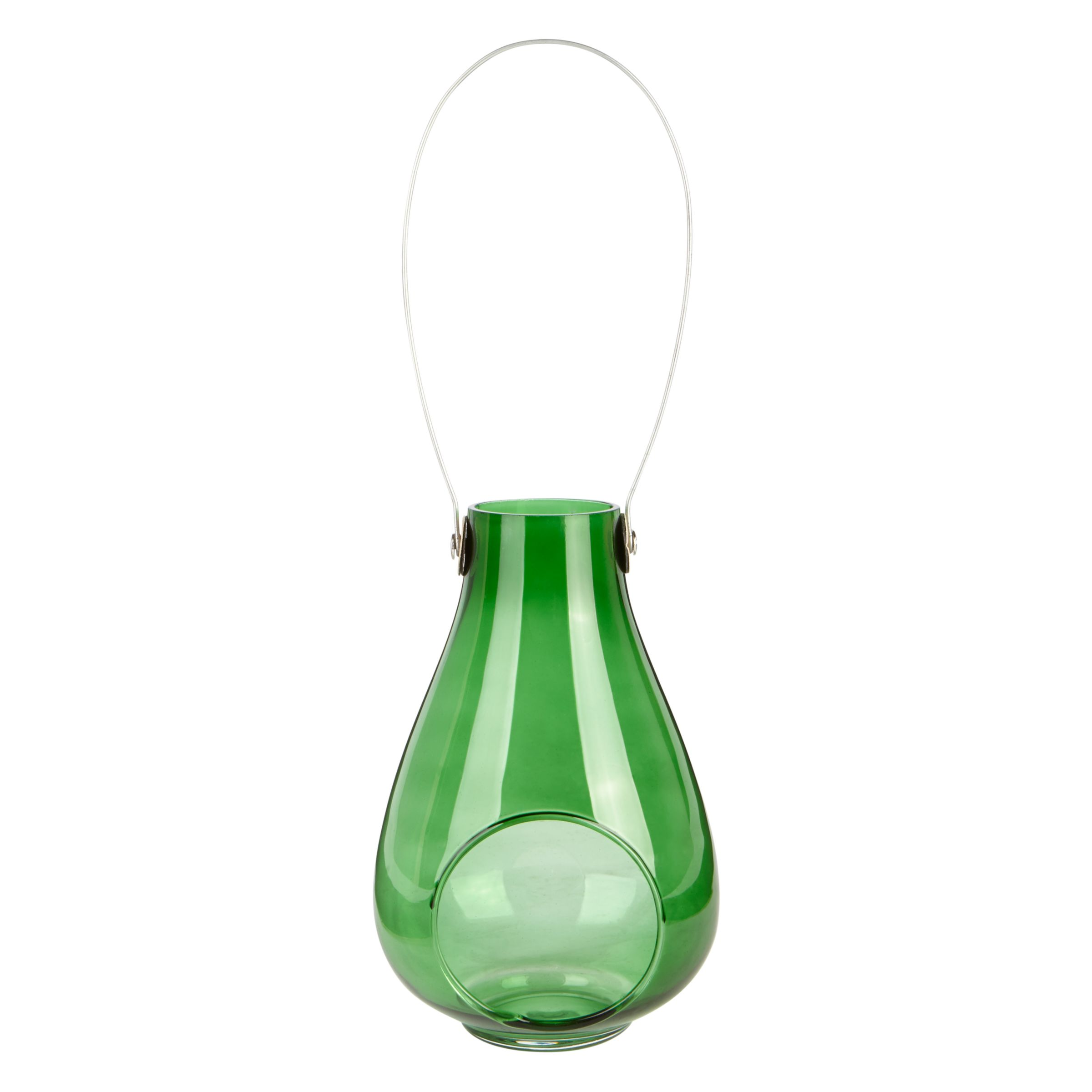 La Hacienda Raindrop Tealight Lantern, Green