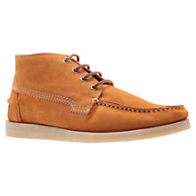 Buy KG by Kurt Geiger Riga Suede Boots, Tan Online at johnlewis.com