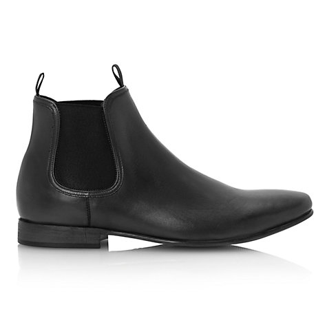 Buy Dune Midtown Leather Chelsea Boots Online at johnlewis.com